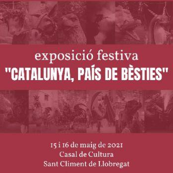 """Exposició """"Catalunya, país de bèsties"""""""