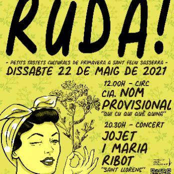 RUDA! Concert Jo Jet i Maria Ribot @ Sant Feliu Sasserra