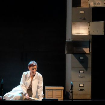 "Teatre documental: ""Les traces del silenci"""