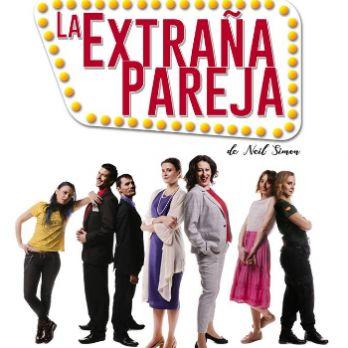 La extraña pareja (versió femenina), a càrrec de Calibán Teatro