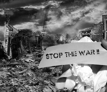 La guerra, quin joc de disbarats i Dalt de l'arbre