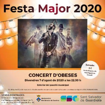 Concert d'Obeses. Festa Major de Sant Salvador de Guardiola