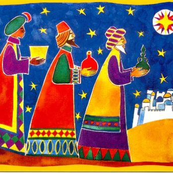 Espectacle arribada dels Reis d'Orient a Capellades