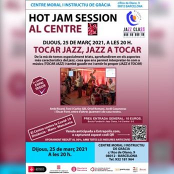 "Hot Jam Session: ""Tocar Jazz, Jazz a tocar"""